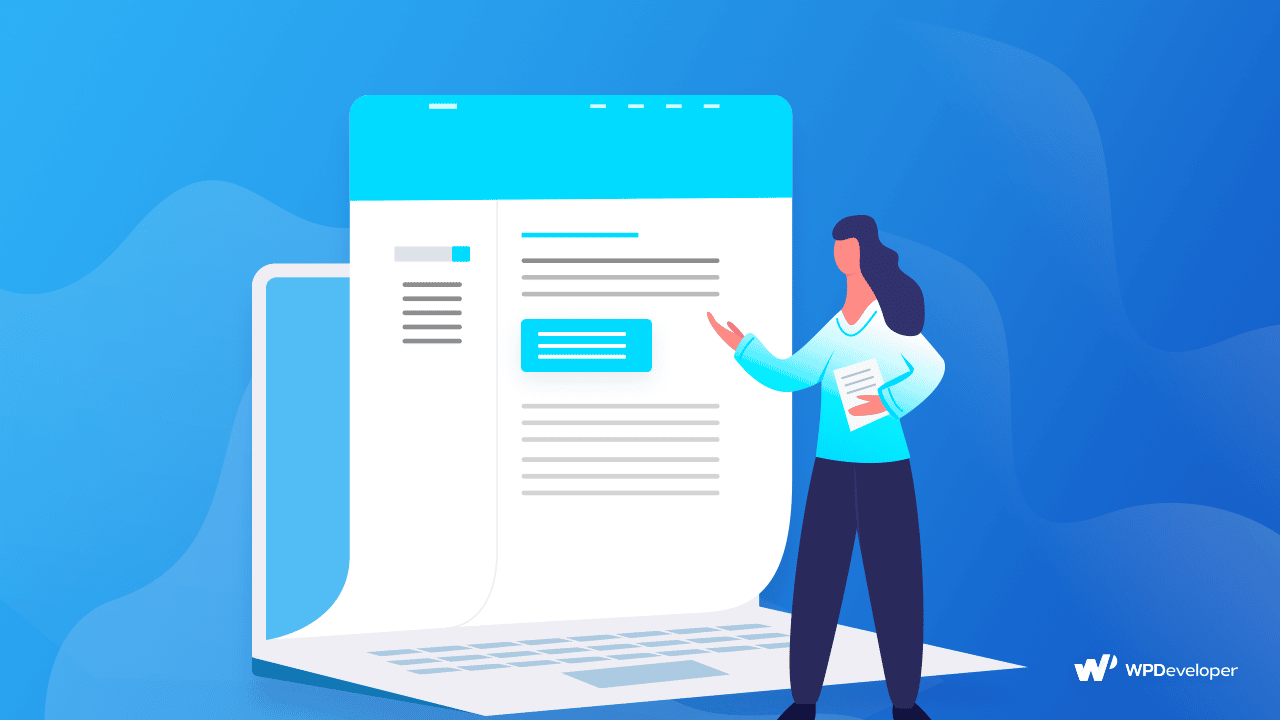 Hinzufügen eines Inhaltsverzeichnisses in der WordPress-Dokumentation
