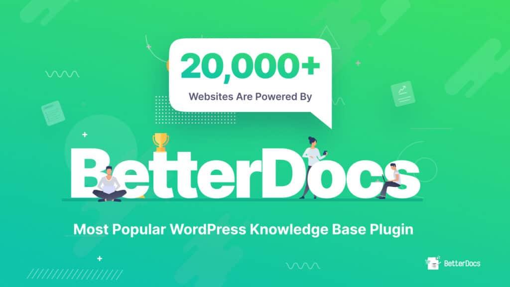 Popular WordPress Knowledgebase Plugin