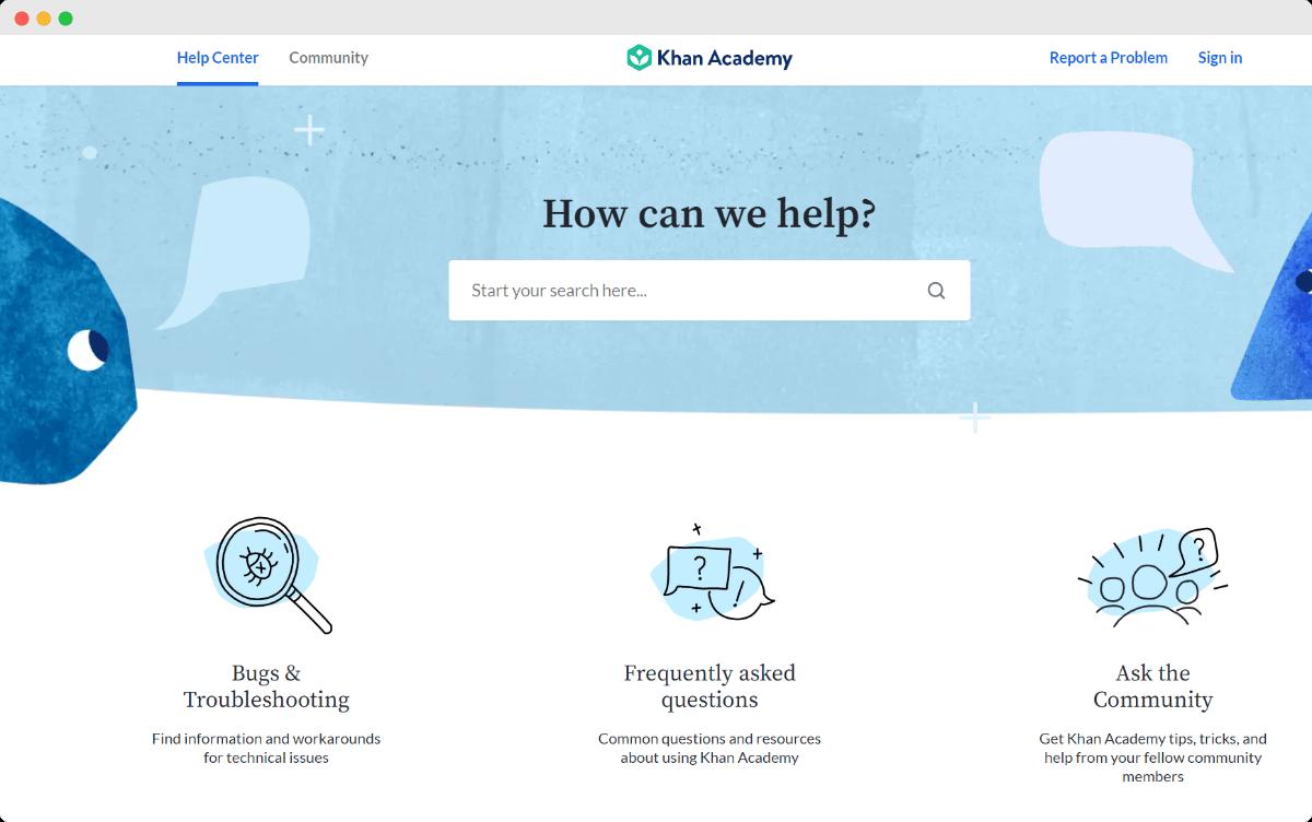 documentation for eLearning website
